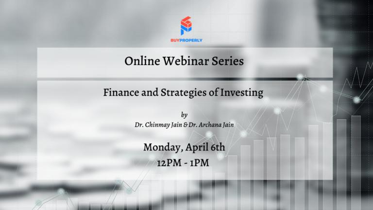 Webinar – Finance and Investing Strategies